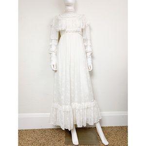Gunne Sax Vintage Romantic Bridal Wedding Dress 9